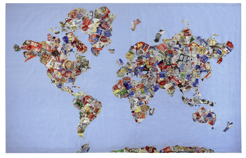 Gavin turk mappa del mundo gumiabroncs Gallery