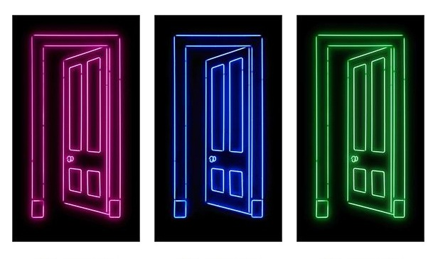 Image Number 30 Of Neon Door ...\\\\\\\\\\\\\\