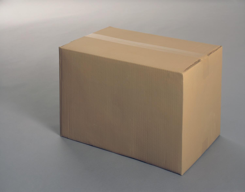 A On Box : Gavin turk box