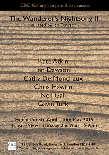 the wanderers nightsong II invite 72dpi 355x504 The Wanderers Nightsong II at C&C Gallery, London